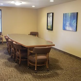 Conference Table at Evans Park Senior Living