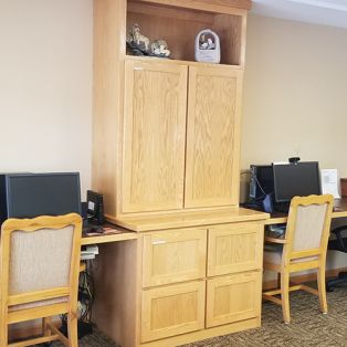 Computer Lab at Evan Park Senior Living
