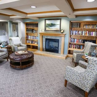 Library and Sitting Area