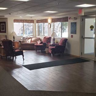 Pine Cone Manor Lobby