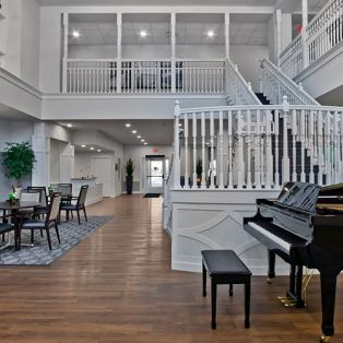 Riverview Landing Piano and Community Area